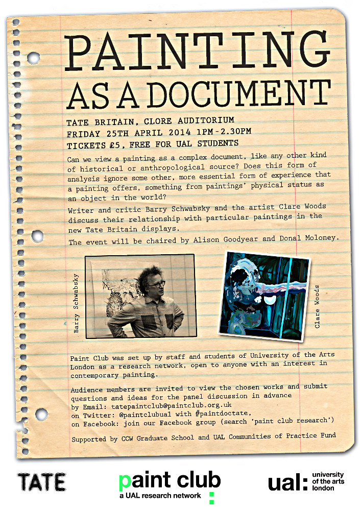 painting as document poster